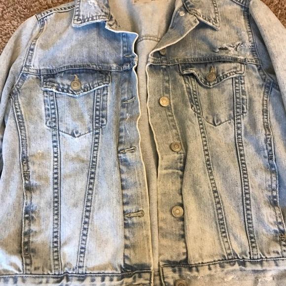 Topshop Jackets & Blazers - Top Shop jean jacket